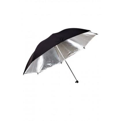 Black Silver Umbrella Reflector 33 inch