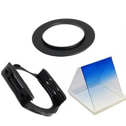 Gradual Blue Square Filter Set