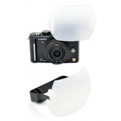 Pop Up Flash Diffuser for Mirrorless Digital Camera