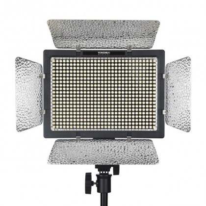 Yongnuo YN600 LED Video Light (3.2K-5.5K) + 2pc Battery + Charger