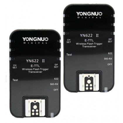 Yongnuo YN622 II Wireless TTL Flash Trigger Set
