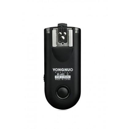 Yongnuo RF603 II Flash Trigger Transmitter (1pc Transceiver)