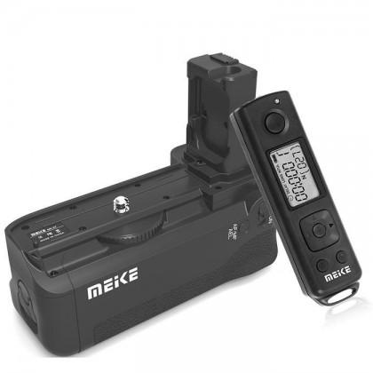 Battery Grip for Sony Alpha A7 MK II A7R MK II A7S MK II Wireless Timer Remote Control