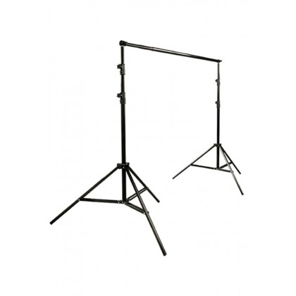 Backdrop Stand Kit Background Stand Support System ( 2 x 2 M)