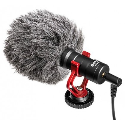 Boya BY-MM1 Cardioid Microphone for Camera Smartphone
