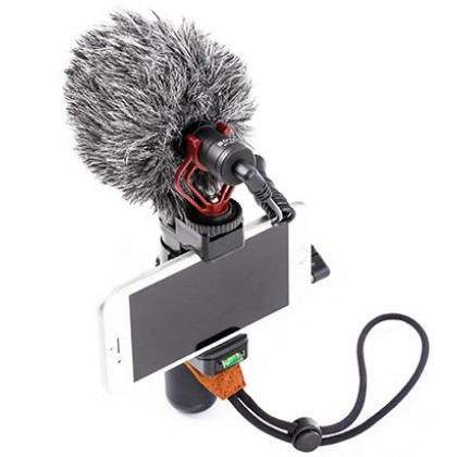 Boya BY-MM1 Cardioid Microphone for Camera Smartphone Mobile Phone