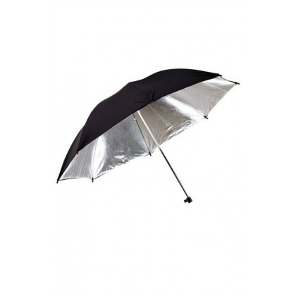 Black Silver Umbrella Reflector 40 inch