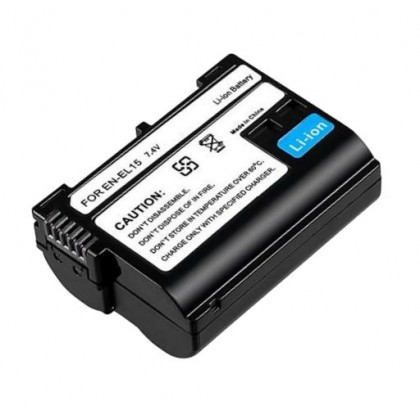 EN-EL15 Rechargeable Li-Ion Battery ENEL15 for Nikon D500 D600 D610 D750 D7000 D7100 D7200 D800 D800E D810 D810A DSLR V1