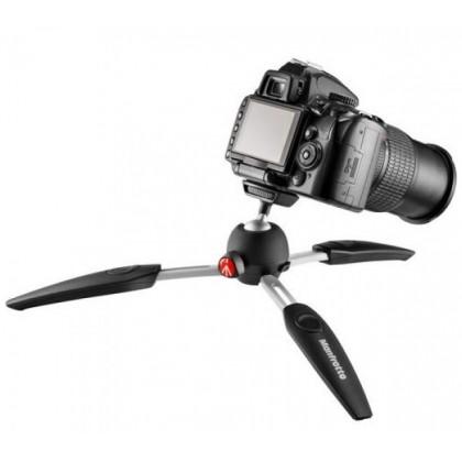 (Sales) Manfrotto PIXI EVO Mini Tripod 2 Section for DSLR Camera MTPIXIEVO (BK/RED)