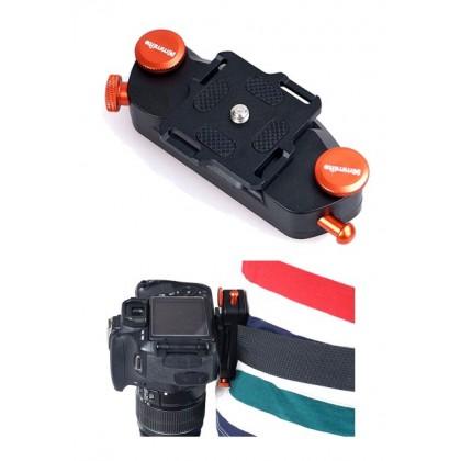 CNC Aluminum Camera Holster Waist Belt Buckle CS-W01