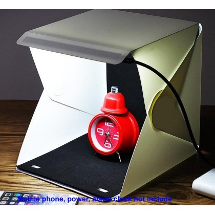23cm L-Lite Pro LED Light Tent for Product Photo Shooting