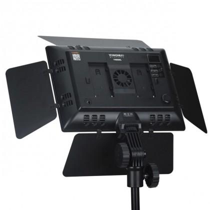 Yongnuo YN600 LED Video Light (3.2K-5.5K) + AC Power Adapter Direct Power