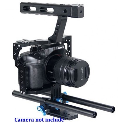 Cage For Sony A7 A7S A7R Mark MK III 3 II 2 Video Rig Support YC50