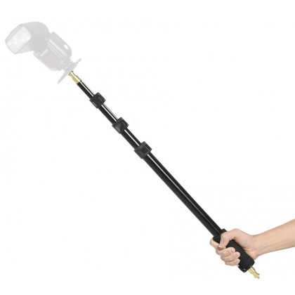 Boom Pole for Microphone Speedlight Camera Boompole