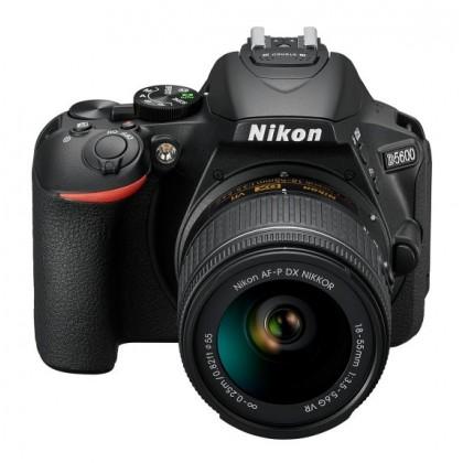 Nikon D5600 AF-P 18-55mm VR Lens +16GB+Bag (Import)