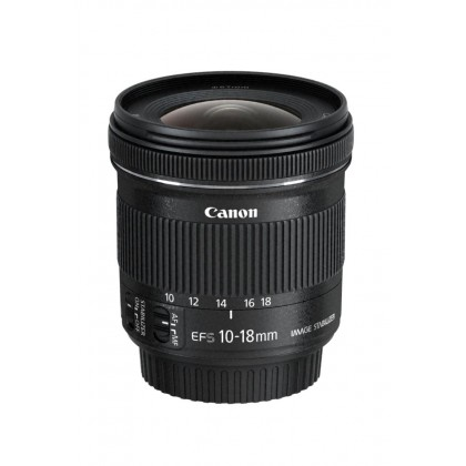 Canon 10-18mm EF-S f4.5-5.6 IS STM Lens (MSIA)