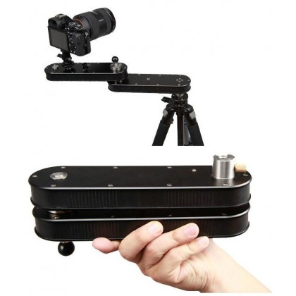 Folding Arm Foldable Slider 70cm for Video Camera Camcorder