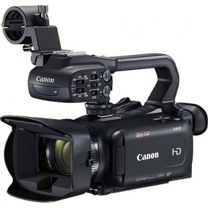 Canon XA15 Compact Full HD Camcorder with SDI, HDMI, and Composite Output (2yr Canon MSIA wrty)