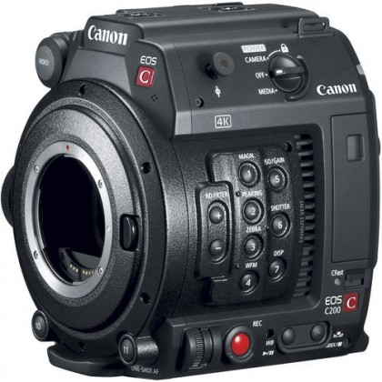 Canon EOS C200 Cinema Camera Body Only - Free 128GB CFAST + Reader + Bag