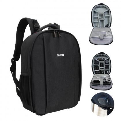 (Mid Year Sale) Water Resistant Digital DSLR Camera Backpack Bag D10