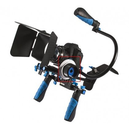 Follow Focus for DSLR Camera Video Rig Cage System