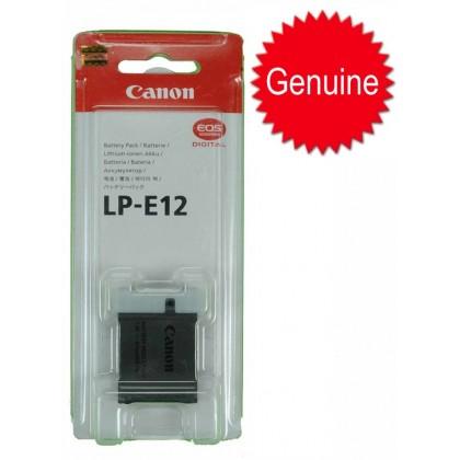 Original Canon LP-E12 LPE12 Battery for Canon EOS M100 M50 M M2 M10 100D Rebel SL1 Kiss X7