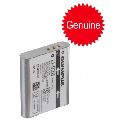 (Raya Offer) Original Olympus LI-92B Rechargeable Li-Ion Battery LI92B for OLYMPUS TG5 TG-5 TG4 TG-4 XZ-2 SH-50 SH-1 Stylus SP-100 Tough TG-1 TG-2 TG-3 TG1 TG2 TG3 SP100 LI90B
