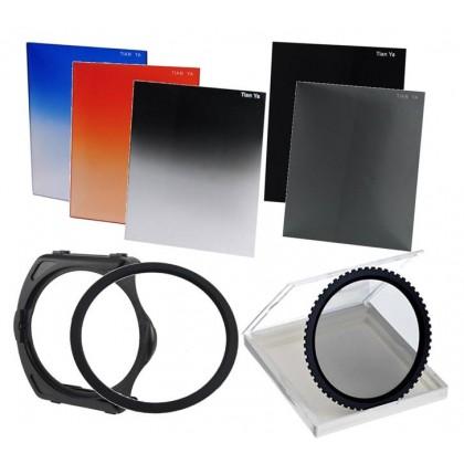 Landscape Square Filter Set for Cokin P Series Free 5 Color Filter