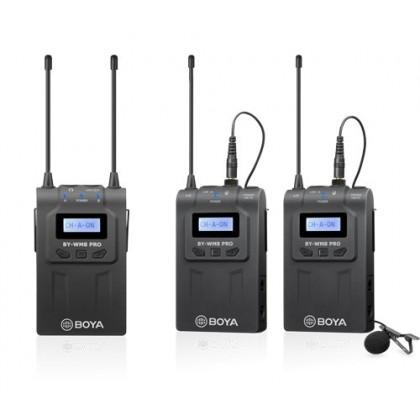 Boya BY-WM8 K2 Dual Channel Wireless Microphone System