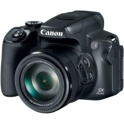 Canon PowerShot SX70 HS 65X Optical Zoom Digital Camera + 32GB+Bag (MSIA)