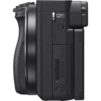 Sony A6400 16-50mm Lens Kit Mirrorless Digital Camera +64GB (Black)