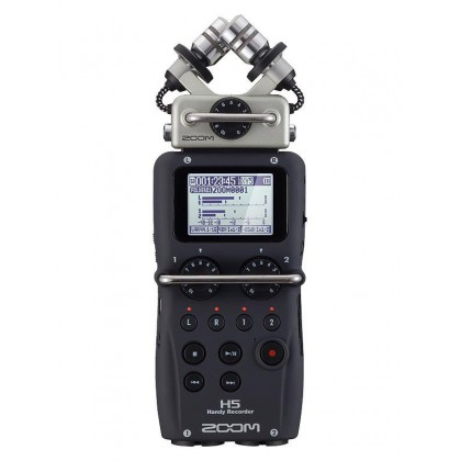 Zoom H5 Digital Handy Sound Recorder with Interchangeable Microphone System