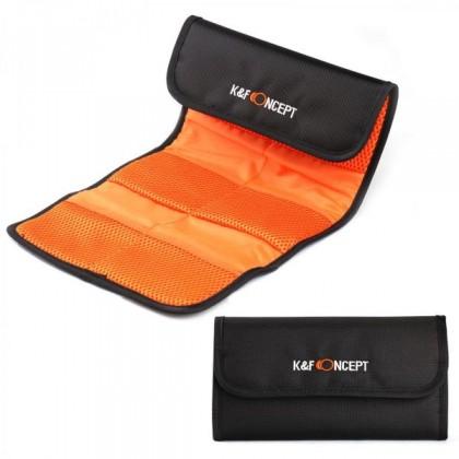 K&F Concept 6 Pocket Lens Filter Bag Pouch Case KF13.003