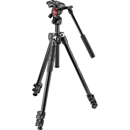 (Offer) Manfrotto MK290LTA3-V Video Tripod with Befree Live Fluid Video Head