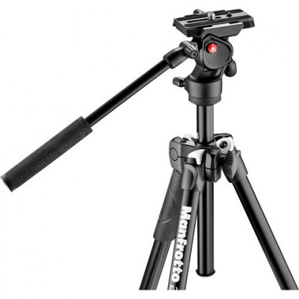 Manfrotto Light Tripod with Befree Live Fluid Video Head Kit MK290LTA3-V