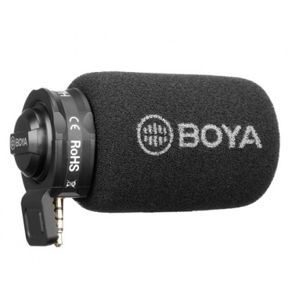 Boya BY-A7H Plug-in Microphone for Smartphone Mobile Phone