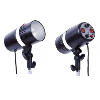 L-Lite Complete Studio Flash Strobe Monolight Kit (160WS-2KIT)