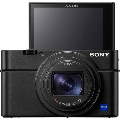 Sony DSC-RX100 Mark MK 7 VII +64GB+Original Battery + Leather Case