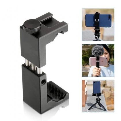 Metal Tripod Smart Phone Holder Mount Adapter ST-02S