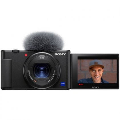 Sony ZV-1 Digital Camera with 3-Capsule Mic & Mic Jack ZV1 - Pre-Order ETA 10 July