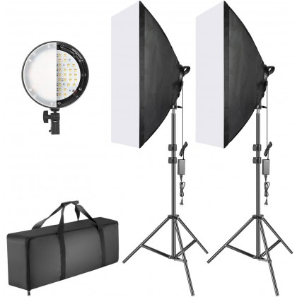 L-Lite FX200 LED Video Lighting kit with Softbox 2KIT - coming soon
