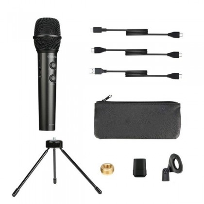 Boya BY-HM2 Live Audio Cardioid Digital Handheld Microphone for Phone & PC Computer - Limited stock
