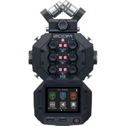 Zoom H8 8-Input / 12-Track Portable Handy Recorder - coming soon
