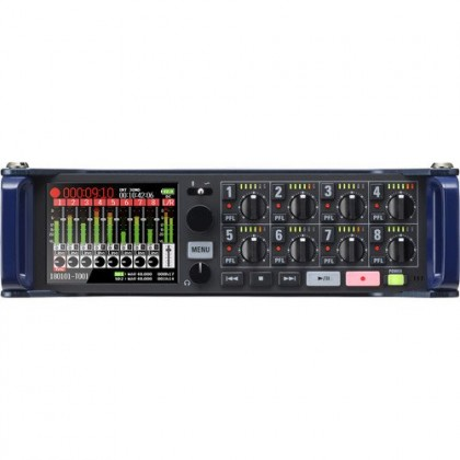 Zoom F8n 8-Input / 10-Track Multitrack Field Recorder
