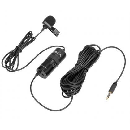 Boya BY-M1 Pro Universal Lavalier Microphone for Smartphone Mobile Phone