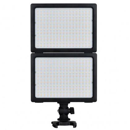 Yongnuo SMD LED Video Light (3200K-5500K) YN204 with AC Power Adaptor