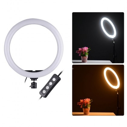 (Sales) M30-2KIT Semi-Pro LED Ring Light For Makeup Video Live Studio Lighting