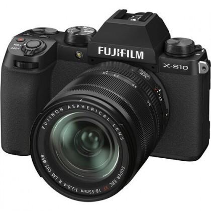 Fujifilm X-S10 + XF 18-55mm f/2.8-4 R LM OIS Lens XS10 +32GB - Ready Stock