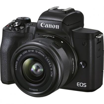 Canon EOS M50 Mark MK 2 II Mirrorless Digital Camera with 15-45mm Lens +32GB+Bag