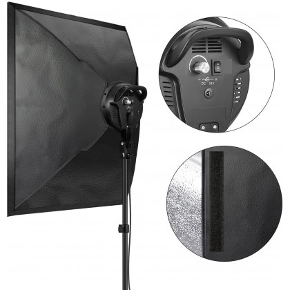 L-Lite FX200 LED Video Lighting kit with Softbox 4KIT - coming soon